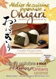 cours de cuisine japonaise cours de cuisine japonaise onigiri aselqo blossières