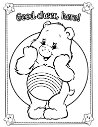 Care Bears Coloring Pages 25 Coloringcolor