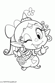 Coloring Page Of Yam Collections