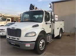 100 Service Truck With Crane For Sale 2013 FREIGHTLINER BUSINESS CLASS M2 106 Mechanic Utility