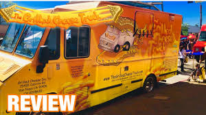 100 Grilled Cheese Food Truck THE GRILLED CHEESE TRUCK REVIEW Los Angeles YouTube