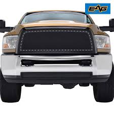 Amazon.com: EAG 2010-2012 Dodge Ram 2500/3500 Grille Rivet Stainless ...