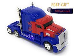 100 Optimus Prime Truck Model Amazoncom Wonderland Transformer Toy With Kikoland Key Chain
