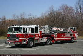 100 Emergency Truck Seagrave Marauder II Aerial Baltimore City Fire Department