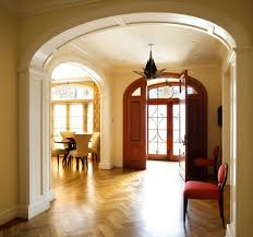Foyer Flooring Ideas Entry Contemporary With Recessed Lighting Front Door Pendant