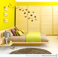 Bedroom Design Yellow