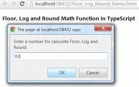Javascript Math Ceil Floor by Math Object In Typescript Part 3