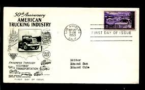 100 Fleetwood Trucking US 1025 ADDR 50th Anniv Industry HipStamp