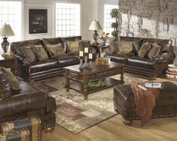 Nice ashley Leather sofa with Best Furniture Mentor Oh Furniture
