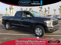 100 Used Tundra Trucks 2018 Toyota For Sale At Courtesy Toyota Of Brandon VIN