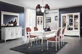 9tlg set echtholz vitrine esstisch stühle kommode schrank wohnzimmer garnitur