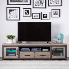 The Gray Barn Barish Rustic Weathered Entertainment Center