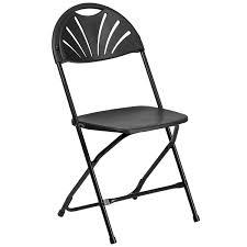 100 Folding Chair Art Black Plastic LEL4BKGG S4Lesscom