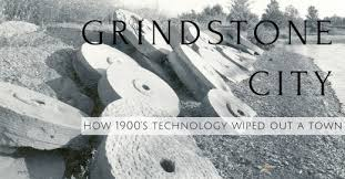 The Accidental Find Of Marshal Sandstone Formation In Michigans Upper Thumb 1834 Gave Rise To One Areas First Industries Grindstone City