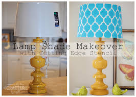 Look Out Lampshades Lamp Shade MakeoverTurquoise LampDiy