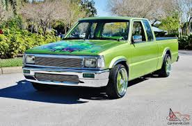 25k Soent To Build 89 Mazda Extra Cab 350 V-8 Auto A/c Hulk Tribute