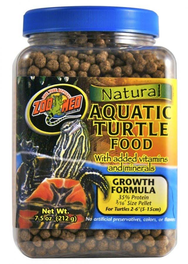 Zoo Med Natural Aquatic Turtle Food - 212g