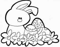 Easter Bunny Coloring Pages Animal Holiday