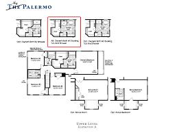 Ryan Homes Venice Floor Plan by My First Palermo Floor Plan