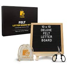 Rainbow Felt Letter Board By Threepotatofour Letter Board Bando