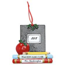 Composition Book Personalized Christmas Ornament Lillian Vernon