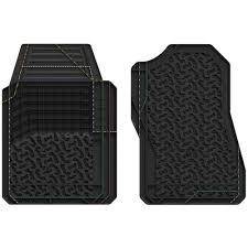 100 Truck Floor Mat BFGoodrich Factory Fit 2 Pc Black GMC Trimmable Front Automotive