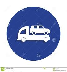 100 Used Tow Trucks Truck Icon In Badge Style One Of Car Repair Collection