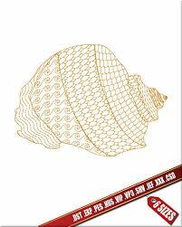 100 Sea Shell Design Machine Embroidery Design Digital Embroidery Motif Etsy