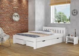 einzelbett kiefer massiv weiß 120x200 cm mit verstellbarem federholzrahmen 60 38 12wfsk