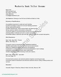 Resume Bank Teller Objective Best Sample Statements Rh Zillapaper Com For Personal Banker Examples