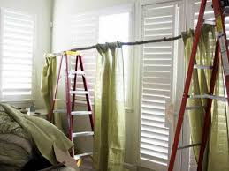 Traverse Curtain Rods Restringing by The Charming Of Diy Curtain Rods Ideas U2014 Home Design Lover