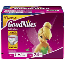847 Best Toys For Girls by Goodnites For Girls Size S M 74 Count