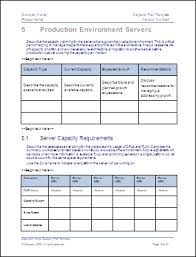 Infrastructure Capacity Planning Template And Storage Photo Pic Plan