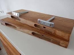2xwandboard eiche massiv holz board regal steckboard