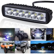 6 Inch Mini 18W LED Light Bar 12V 24V Motorcycle LED Bar Offroad ... 5inch 40w Led Work Light Bar For Truck Motorcycle Gd Traders Aries Automotive 50 Doublerow 26 Best Of Off Road Lights Home Idea 315 Inch 180w 4x4 Led Curved Tractor Offroad 4wd 72018 F250 F350 Nfab Offroad 30 W Amazoncom Senlips 52 Inch 300w Install Of Westin Bar And Hella 500ff 18watt Vehicle Torchstar Kohree 108w Cree Spotflood Rc Deluxe Package Kit Torch Series Grilles