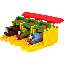 fisher price thomas friends take n play tidmouth sheds launchers