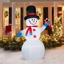 Exquisite Design Lowes Inflatable Christmas Decorations Shop Gemmy