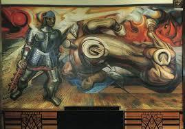 resurrection of cuauhtemoc 1950 by david alfaro siqueiros 1896