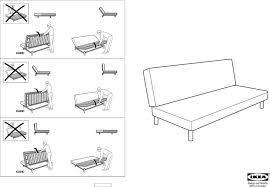 Ikea Futon Chair Instructions by Ikea Futon Sofa Bed Instructions Ikea Futon Embly Instructions