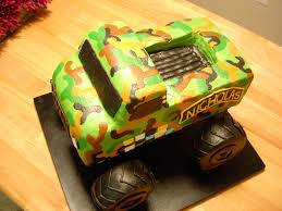 Army Monster Truck Cake | Angie Cakes | Flickr Creative Cakes Semi Truck Cake School Of Natalie Bulldozer With Kitkats Garbage Cakes Decoration Ideas Little Birthday For Dump Sheet Tutorial My 1st Punkins Shoppe Fire With Monster 9x13 Monster Truck Cake Pinterest Hot Wheels Cakecentralcom Hunters 4th Its Always Someones Blakes 5th Bday Youtube