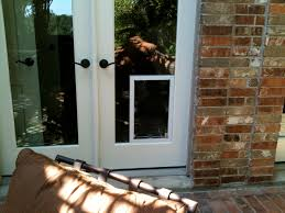 French Patio Doors With Built In Blinds by Sliding Glass Door With Dog Door Sliding Glass Door Lock Image