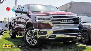 100 Crew Cab Trucks For Sale New 2019 RAM AllNew 1500 Longhorn In Newark D12233