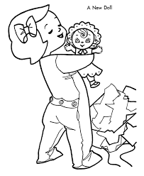 Awesome Baby Doll Coloring Pages 82 About Remodel Free Colouring