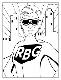 The Notorious RBG Coloring Book Of Our Feminist Dreams Is Here