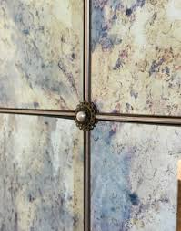 12x12 Mirror Tiles Beveled by How To Antique Mirror Using Paint Stripper And Bleach Paint
