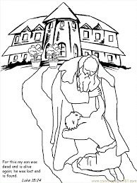 Explore Prodigal Son Coloring Pages And More