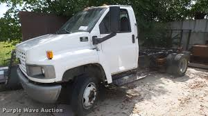 100 Gmc C4500 Truck 2003 GMC Truck Cab And Chassis Item DB3441 SOLD S