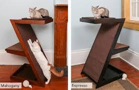 Cat Furniture Modern Luxury Cat Trees Litter Box Furniture Towers