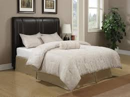 Black Leather Headboard Bed by Black Leather Headboard King Looks Elegant Leather Headboard