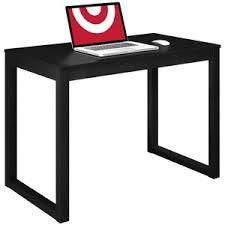 Room Essentials Parsons Desk Black Polyvore